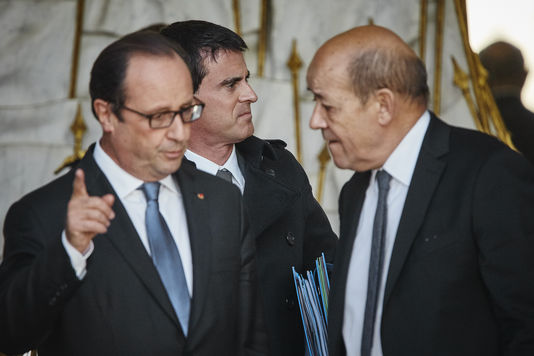 Hollande-Valls-LeDrian-le trio de tous les dangers